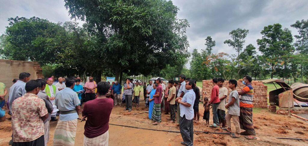 Základní kámen školy v Bangladéši položen